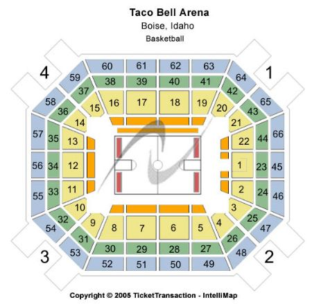 Taco Bell Arena Tickets and Taco Bell Arena Seating Chart ...