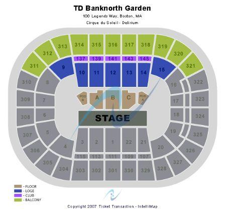 Td Garden Tickets And Td Garden Seating Chart Buy Td Garden Boston Tickets Ma At