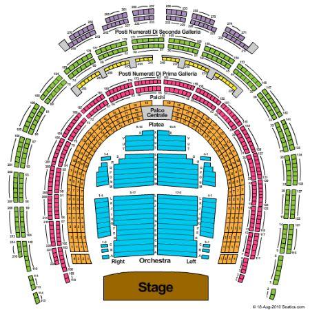 Teatro Alla Scala Tickets And Teatro Alla Scala Seating Chart Buy