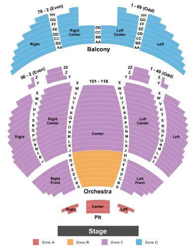 Tennessee theatre tickets and tennessee theatre seating chart