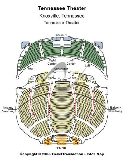 Tennessee theatre tickets and tennessee theatre seating chart buy
