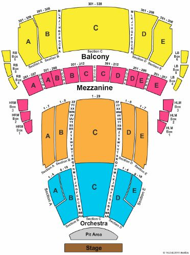 The buell theatre tickets and the buell theatre seating chart