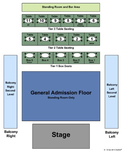 The Fillmore Seating Capacity