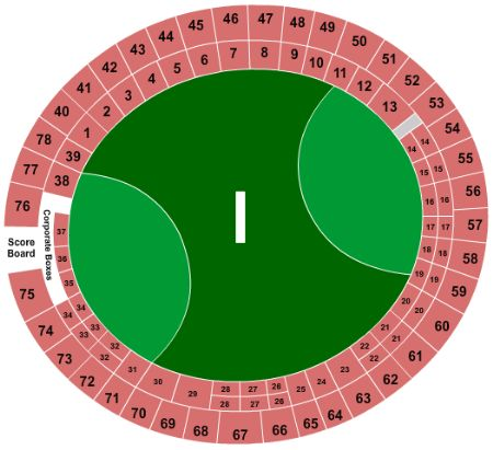 Gabba Seating Map The Gabba Tickets and The Gabba Seating Chart   Buy The Gabba  Gabba Seating Map