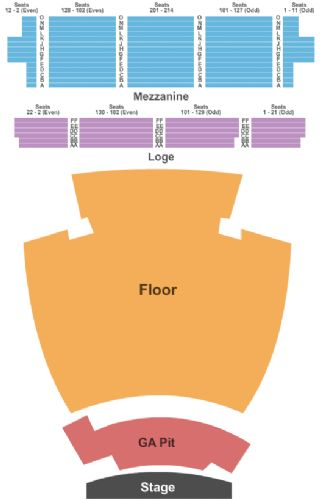 The Wiltern Tickets And The Wiltern Seating Chart Buy The - The wiltern seating chart