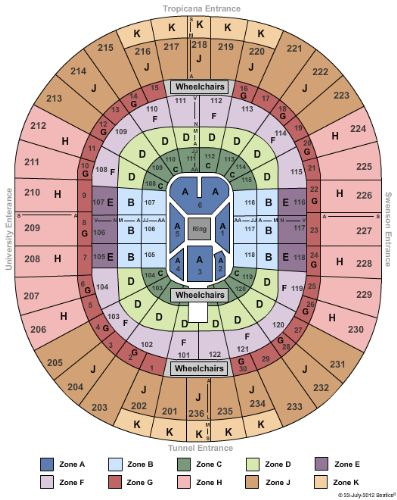 Thomas mack center seating chart keni ganamas co