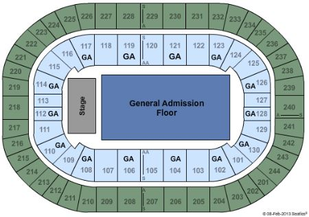 Times union center tickets and times union center seating chart