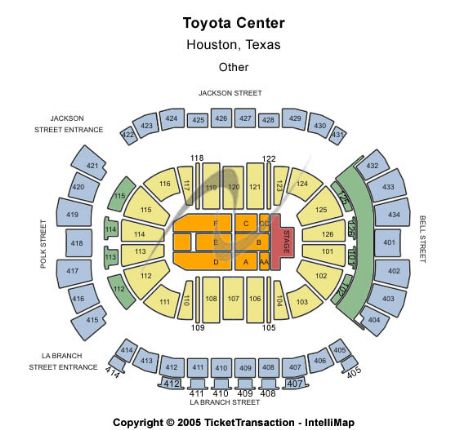 75+ Toyota Center Floor Plan Toyota Center Floor Plan - Toyota ...
