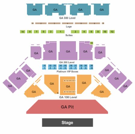 Toyota oakdale theatre tickets and toyota oakdale theatre seating