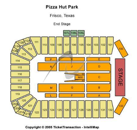 Toyota Stadium Frisco Seating Chart Toyota Stadium