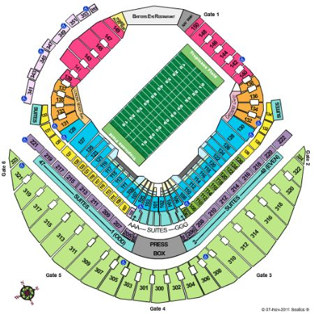 Tropicana field tickets and tropicana field seating chart buy