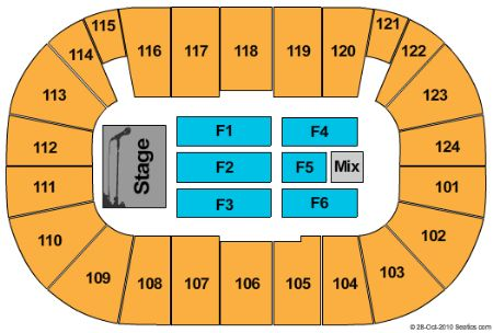 Tsongas center tickets and tsongas center seating chart buy