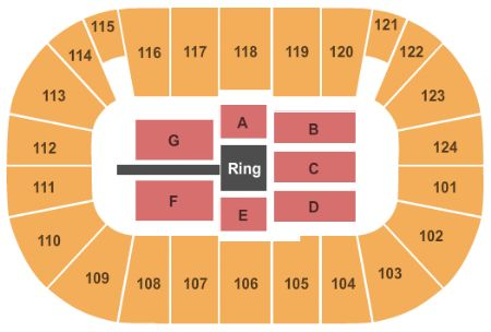 Tsongas Center Tickets And Tsongas Center Seating Chart