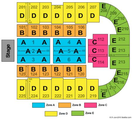 Tucson arena tickets and tucson arena seating chart buy tucson