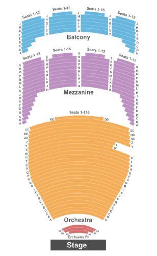 tulsa performing arts center seating. Black Bedroom Furniture Sets. Home Design Ideas