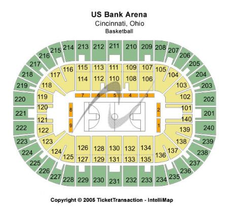 Us bank arena tickets and us bank arena seating chart buy us