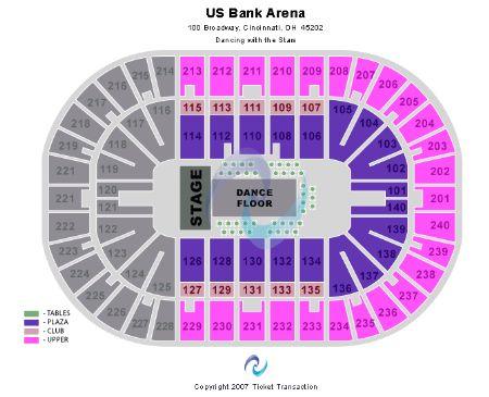 US Bank Arena Tickets and US Bank Arena Seating Chart - Buy US Bank ...