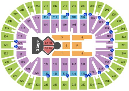 Us Bank Arena Tickets And Us Bank Arena Seating Chart Buy Us Bank - Us-bank-arena-seat-map