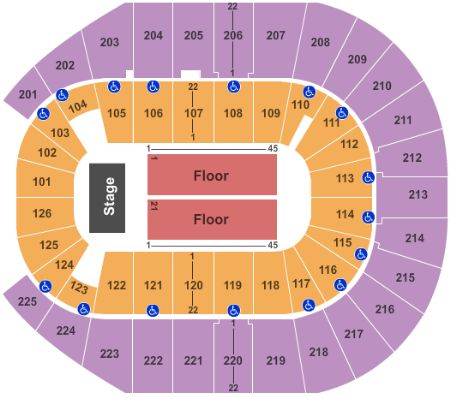 Verizon arena tickets and verizon arena seating chart buy verizon