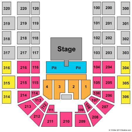 Verizon wireless center tickets and verizon wireless center seating