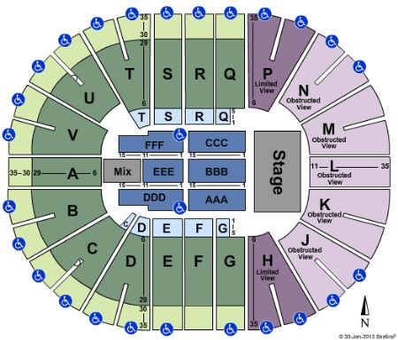Viejas arena seating chart rihanna viejas arena seating chart