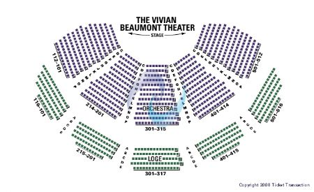 Vivian beaumont theatre at lincoln center tickets and vivian