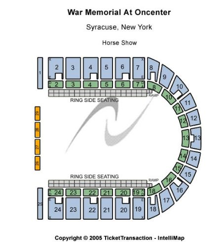Syracuse War Memorial Seating Capacity Brokeasshome Com