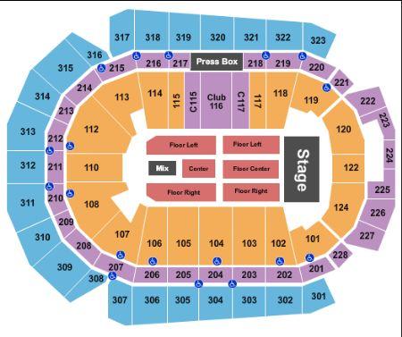 Wells fargo arena tickets and wells fargo arena seating chart buy