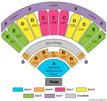 White River Amphitheatre Tickets And White River