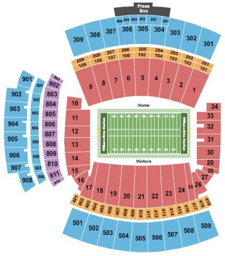 Williams brice stadium tickets and williams brice stadium seating