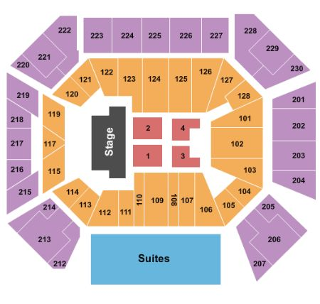 Wintrust Arena Tickets And Wintrust Arena Seating Chart