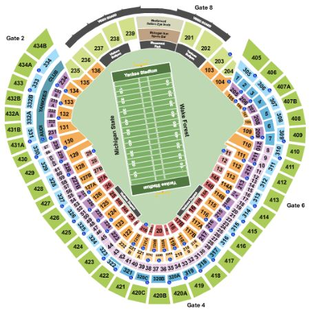 Yankee Stadium Tickets and Yankee Stadium Seating Chart ...